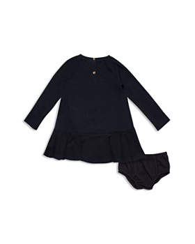 kate spade new york - Girls' Drop-Waist Chic Terry Sweatshirt Dress & Bloomers Set - Baby