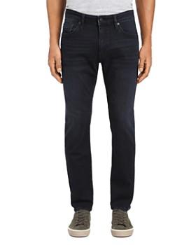 Mavi - Marcus Straight Slim Jeans in Deep Ink Williamsburg