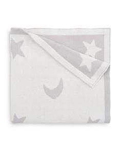 Elegant Baby - Unisex Star & Moon Print Blanket