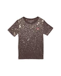 True Religion - Boys' Splatter Logo Tee - Little Kid, Big Kid