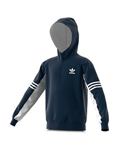 Adidas - Girls' Half-Zip Fleece Hoodie - Big Kid