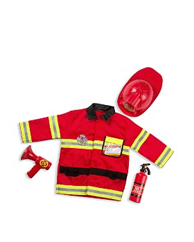 Melissa & Doug - Fire Chief Costume Play Set - Ages 3+