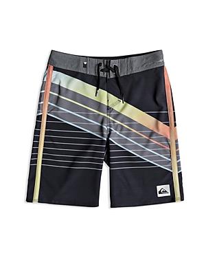 Quiksilver Boys' Striped Board Shorts - Little Kid