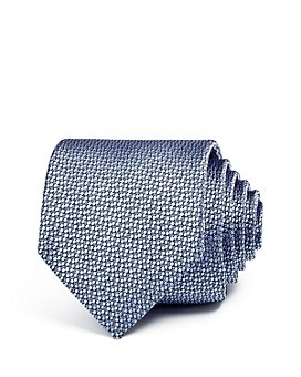 Ledbury - Carberry Floral Texture Skinny Tie