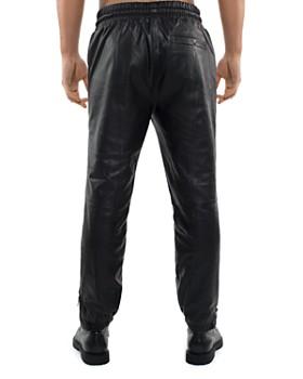 Sean John - Leather Track Pants