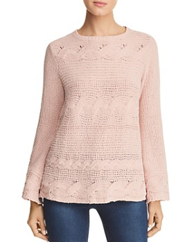 cd38d29e09fa Cable Knit Sweater - Bloomingdale s