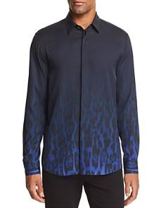 Just Cavalli - Gradient Cheetah-Print Regular Fit Shirt