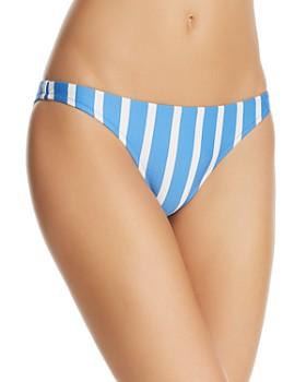 MILLY - Stripe Swim St. Lucia Bikini Bottom