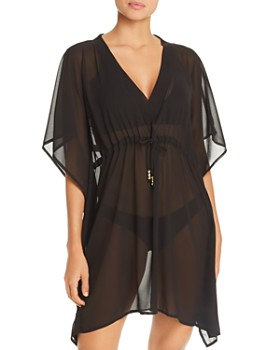 39ab16d4feb6e Echo - Solid Classic Butterfly Swim Cover-Up ...