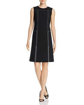 310f65c789a Lafayette 148 New York - Topstitched Shift Dress ...