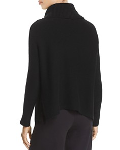 Eileen Fisher Petites - Cashmere Cowl-Neck Crop Sweater