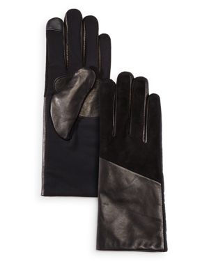 Echo Leather Detail Tech Gloves