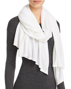 4a5260800 AQUA Donegal Cashmere Scarf - 100% Exclusive | Bloomingdale's