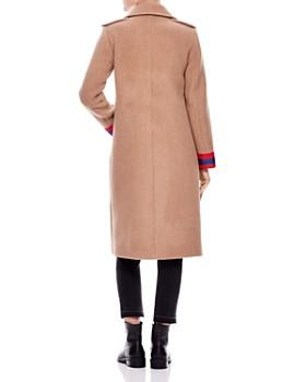 Sandro - Ajonc Stripe Cuff Coat