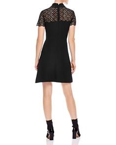 Sandro - Iberia Embellished Lace Inset Dress