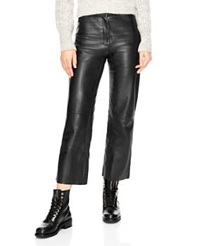 Black Leather Pants - Bloomingdale s 3b395874f