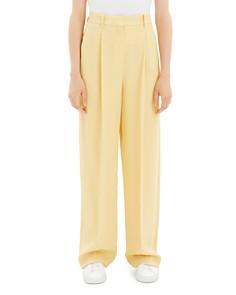 Theory - Pleated Wide-Leg Pants
