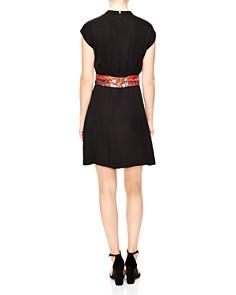 Sandro - Hellebore Belted Dress