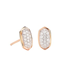 Kendra Scott - Amelee Diamond Stud Earrings in 14K Yellow Gold, 14K Rose Gold or 14K White Gold