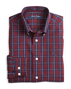 Brooks Brothers - Boys' Double Plaid Sportshirt - Big Kid