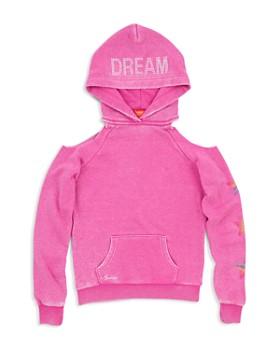 Butter - Girls' Unicorn Dream Cold-Shoulder Hoodie - Big Kid