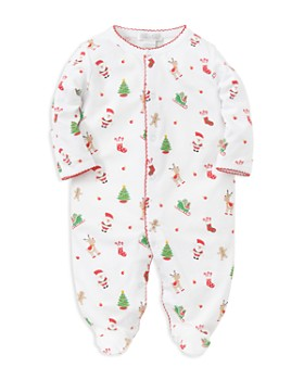 Kissy Kissy - Unisex 'Tis the Season Footie - Baby