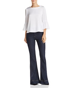 Alice and Olivia - Bernice Bell-Sleeve Top
