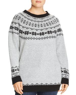Junarose Plus Fair Isle Sweater