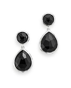 IPPOLITA - Sterling Silver & Black Onyx Rock Candy Drop Earrings