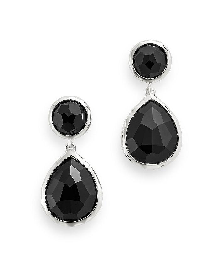 Image result for black onyx earrings