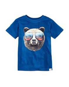 Kid Dangerous - Boys' Bear with Shades Graphic Tee - Little Kid, Big Kid