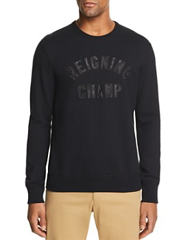 REIGNING CHAMP - Club Logo Appliqué Sweatshirt