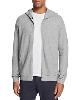 6e8d793e2216 Theory - Essential Zip-Front Waffle-Knit Hoodie ...