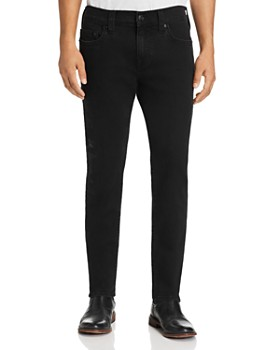 True Religion - Rocco Embroidered Slim Fit Jeans in Magnetic Field