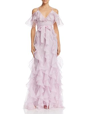 Alice Mccall Baby Love Ruffled Cold Shoulder Gown Bloomingdales