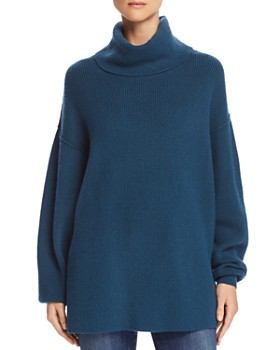 Free People - Relaxed Turtleneck Sweater
