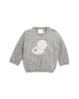 Bloomie's - Unisex Intarsia Duck Sweater, Baby - 100% Exclusive