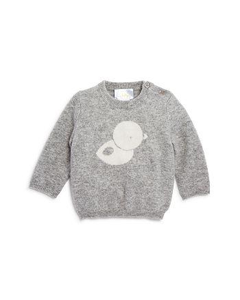 Bloomie's - Unisex Intarsia Duck Sweater, Baby - 100% Exclusive