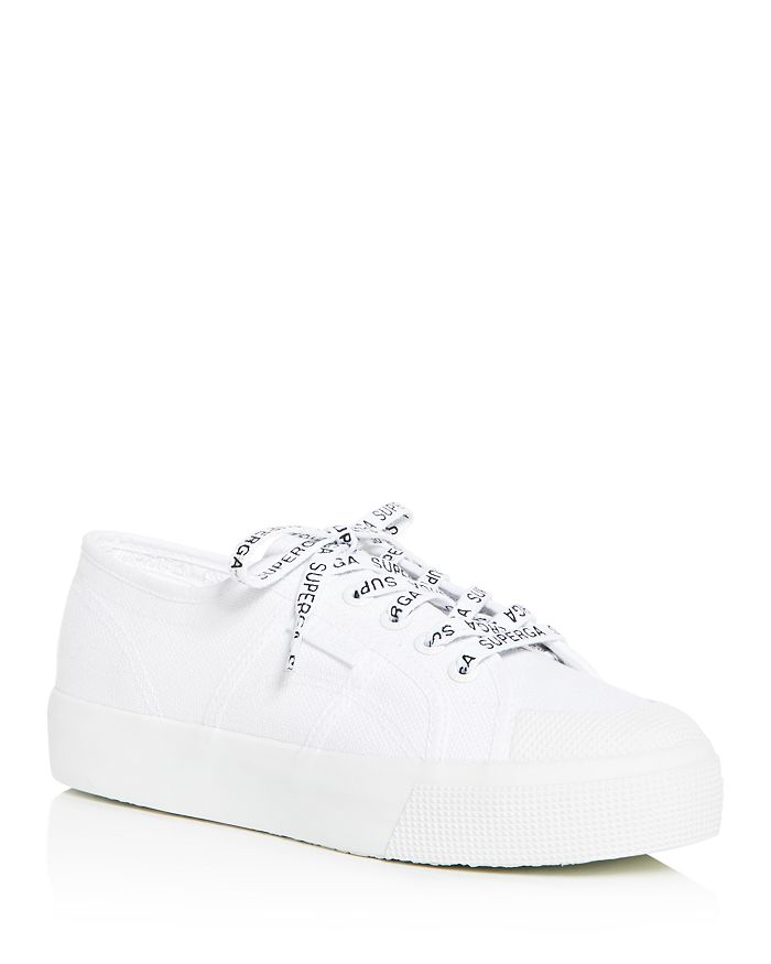 Superga WOMEN'S COTU CLASSIC LOW-TOP PLATFORM SNEAKERS