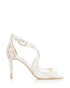 Jimmy Choo - Women's Emily 85 Crisscross High-Heel Sandals