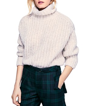 Free People - Boxy Turtleneck Sweater