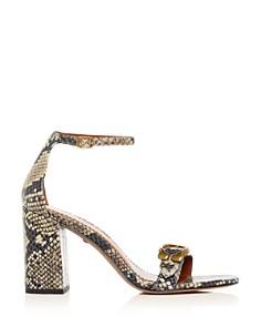 COACH - Women's Maya Ankle Strap High Block-Heel Sandals