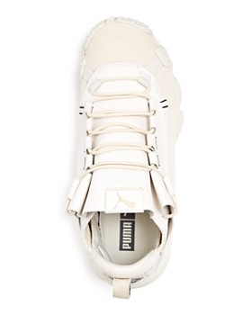 PUMA - Men's Trailfox Leather Low-Top Sneakers