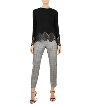 Ted Baker - Aylex Lace-Trimmed Sweater