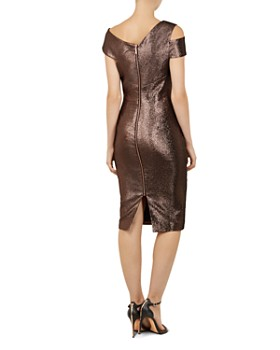 Ted Baker - Maggz Metallic Body-Con Dress