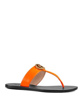 Gucci - Women's Marmont Thong Sandals