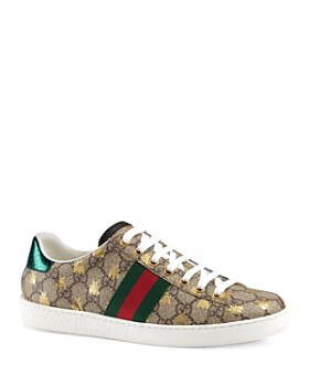 a0bf09dfc0a Gucci - Women s New Ace GG Supreme Sneaker with Bees ...