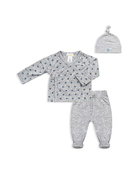 Bloomie's - Boys' Take Me Home Star-Print Top, Footie Pants & Hat Set - Baby