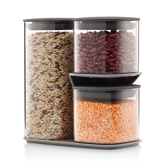 Joseph Joseph - Podium 3-Piece Storage Jar Set & Stand