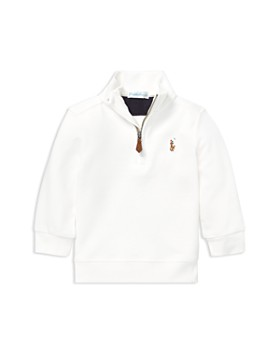 Ralph Lauren - Boys' Quarter-Zip Pullover Sweater - Baby